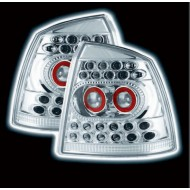 VAUXHALL ASTRA G MK4 3/5 DOOR TECHNO CHROME LED TAIL LIGHTS