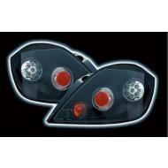 VAUXHALL ASTRA H 5DR TECHNO LED BLACK TAIL LIGHTS