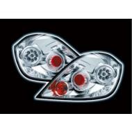 VAUXHALL ASTRA H 5DR TECHNO LED CHROME TAIL LIGHTS