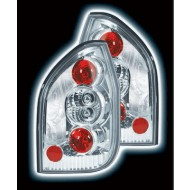 VAUXHALL ZAFIRA (99-04) TAIL LIGHTS - CHROME LEXUS-STYLE