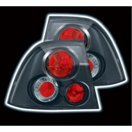 VAUXHALL VECTRA B 3/99-6/02 BLACK LEXUS TAIL LIGHTS