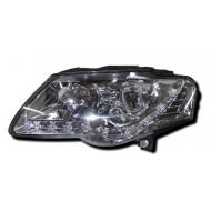 VW PASSAT 05- CHROME DRL HEADLIGHTS