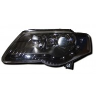 VW PASSAT 05- BLACK DRL HEADLIGHTS