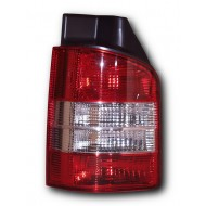 VW T5 TRANSPORTER (2003-2010) with single lift-up rear door Tail Light LEFT SIDE