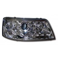 VW T5 CARAVELLE T5 TRANSPORTER (-09) HEADLIGHTS - CHROME DRL
