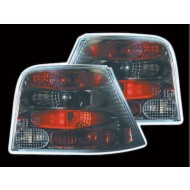 VW GOLF 4 6/98-04 BLACK DESIGN TAIL LIGHTS
