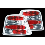 VW GOLF 4 6/1998-2004 HI-CHROME TAIL LIGHTS