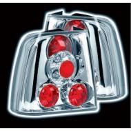 VW PASSAT 4 DOOR 5/97-12/00 CHROME LEXUS TAIL LIGHTS