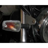 YAMAHA XJ600 XJR1200 XJR1300 CLEAR INDICATOR LENS & BULB KIT (PAIR)